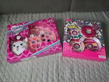 Girls Pretend Makeup Set For Kids, Children Gift, dog,puppy,donut toys bundle