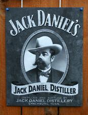 Jack Daniels Distillery Jack Daniel Distiller Tin Metal Sign Liquor Alcohol TN
