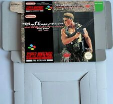 Wolfenstein 3D - box reproduction with insert -  PAL UKV REGION - SNES.