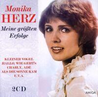 """MONIKA HERZ """"KLEINER VOGEL"""" 2 CD NEU"""