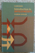 Introduction to Investments - Fourth Edition, College Level