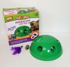 New listing Allstar Innovations Pop N' Play Interactive Motion Cat Toy kitten cat