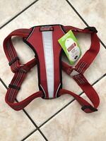 KONG Red Reflective Comfort Padded Dog Harness XL girth 29-44 Extra Large NWT