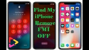 Passcode/Disable FMI:OFF Service - iPhone X iCloud remove IPHONE 4s 5 5c 5s X XR