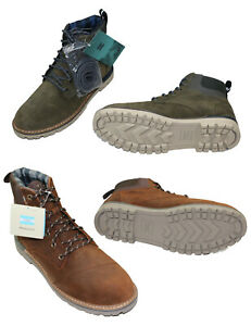 TOMS Waterproof Ashland Collection Suede/Canvas Men's Outdoor Hiking Boots NIB
