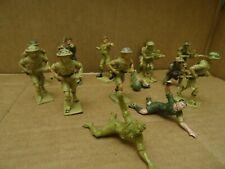 Cherilea British 8th Army Troops. 14 Figures. 1960s