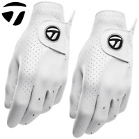 TAYLORMADE 2019 MENS TP TOUR PREFERRED LEATHER GOLF GLOVE / 2 GLOVE TWIN PACK