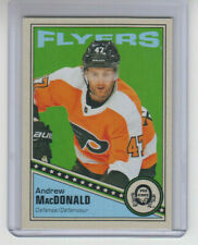 19/20 OPC Philadelphia Flyers Andrew MacDonald Blank Back card