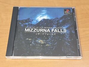 Mizzurna Falls PS1 Replacement Translated Manual & Case