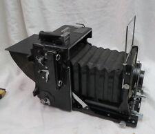 """vintage Graflex Speed Graphic 4"""" x 5"""" film / professional CAMERA 1930 1940 era"""