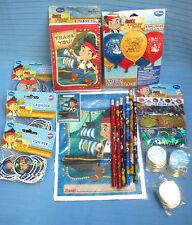 Disney Jake Never Land Pirates Birthday Party Lot Balloons Confetti Pencil More
