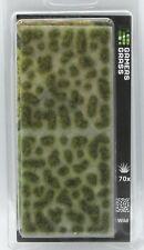 Gamer's Grass GG5-AU Autumn 5mm Wild Tufts (70) Plants Dry Green Vegetation NIB