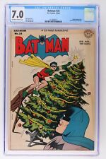 Batman #33 - DC 1946 CGC 7.0 Penguin Appearance. Christmas cover and story.
