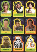 Star Wars Journey Force Awakens~MINI-MASTER SET (Base +6 Inserts Sets) 171 cards