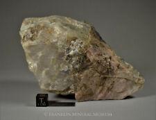 Quartz, rhodonite - Franklin, NJ