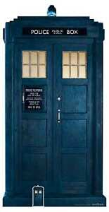 The Tardis from 13th Doctor Who 2/3 Lifesize with FREE Mini Cardboard Cutout