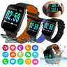 SMART BRACELET A6 SMARTWATCH ANDROID IOS FITNESS SPORT JOGGING FREQUENZA CARDIO