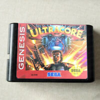 Ultracore - 16 bit Game Card For Sega Genesis / Mega Drive System