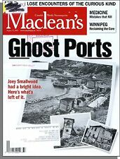 Maclean's - 2001, August 13 - Ghost Ports, Medicine: Mistakes That Kill