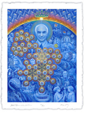 Alex Grey signed Albert Hofmann New Eleusis LSD Psychedelic Bicycle Day Tool