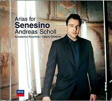 Andreas Scholl - Arias for Senesino (CD, 2005, Decca) new, sealed