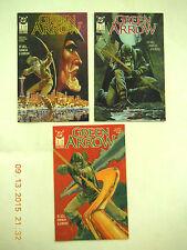 DC COMICS GREEN ARROW #1-3 COMIC BOOK SET! NEW!