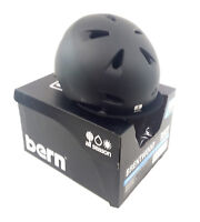 Bern Men's Brentwood Summer Bike Helmet w/Flip Visor, Small