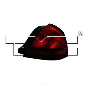 Tail Light Assy TYC 11-6089-01