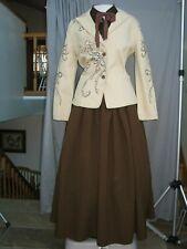 Victorian Dress Western Edwardian Womens Costume Civil War Frontier Prairie
