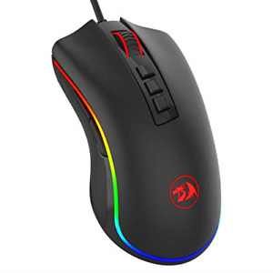 Redragon M711 Cobra Gaming Mouse with 16.8 Million RGB Color Backlit, 10,000 DPI