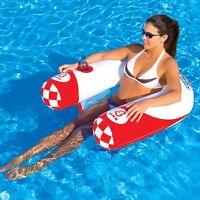 SportsStuff Noodler 1 Pool N' Beach Lounge Inflatable Water Tube Float 54-1851