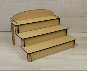 Craft Fair, Make Up, POS, Shelf Table Display Unit Stand for Retail Counter
