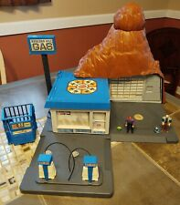 """M.A.S.K. """"Boulder Hill"""" Playset - COMPLETE!! Includes Figures, Hoses, ALL parts!"""