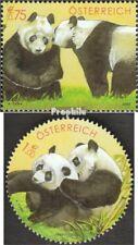Oostenrijk 2409-2410 postfris 2003 Panda-Onderzoek