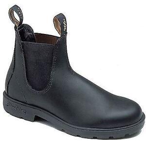 Blundstone 510 Chisel Toe Black Premium Leather Classic Boots Australia