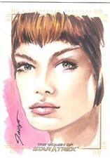 2017 Women Of Star Trek 50th Anniversary Jennifer Allyn Sketch Card Of T'Pol NEW
