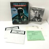 Chuck Yeagers Advanced Flight Trainer 2.0 PC Game Electronic Arts VINTAGE Floppy