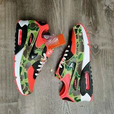 *NO BOX* Nike Air Max 90 SP Reverse Duck Camo Infrared  CW6024600 Men's Sz9.5