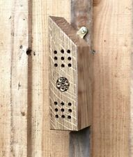 Bee house, bug hotel, insect home handmade from reclaimed oak, wildlife home