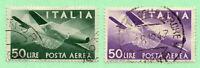 Italy - Sc# C113 & C114 Used      /       Lot 0420718