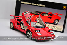 Autoart 1:18 lamborghini COUNTACH 5000s Red