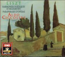 Franz Liszt: armonías poéticas y Religiosa,Paráfrasis De Opera/Aldo Ciccolini CD