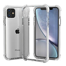 Clear Hybrid Shockproof Bumper Case For iPhone 11 Pro Max XS XR 678 X Back Cover