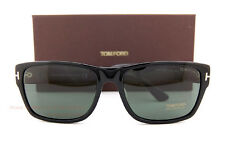 Tom Ford Frederick Rectangular Sunglasses Black Smoke Grey Gradient FT 0494 01b