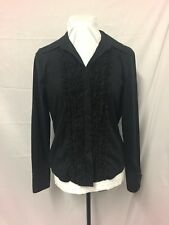 Womens Blouse. Black Size 14. Excellent Condition. Beautiful Details