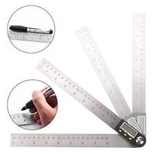 LCD Digital Angle Finder Ruler Meter Protractor Goniometer Measure Tool D8U7O