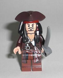 LEGO Fluch der Karibik - Jack Sparrow mit Hut - Figur Minifig Pirates 4194 4195