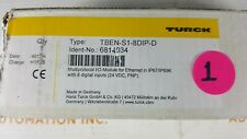 New Tben-S1-8Dip-D Turck Multiprotocol block I/O module; 8 Channels 6814034