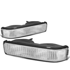 Fit 1994-2002 Chevy/GMC C/K Pickup Truck Front Bumper Light Turn Signal Lamps