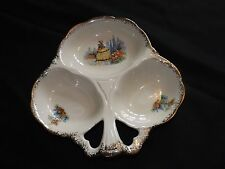 EMPIRE WARE DAINTY LADY HORS D'OEURVES DISH